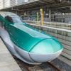 新幹線を見る(東京駅)
