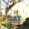 東野住宅バス停すぐの公園